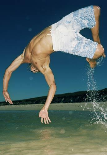 People-guy diving